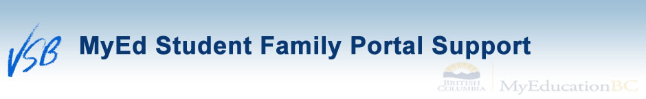 MyEd BC Student Family Portal