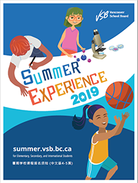 Summer Experience Catalogue
