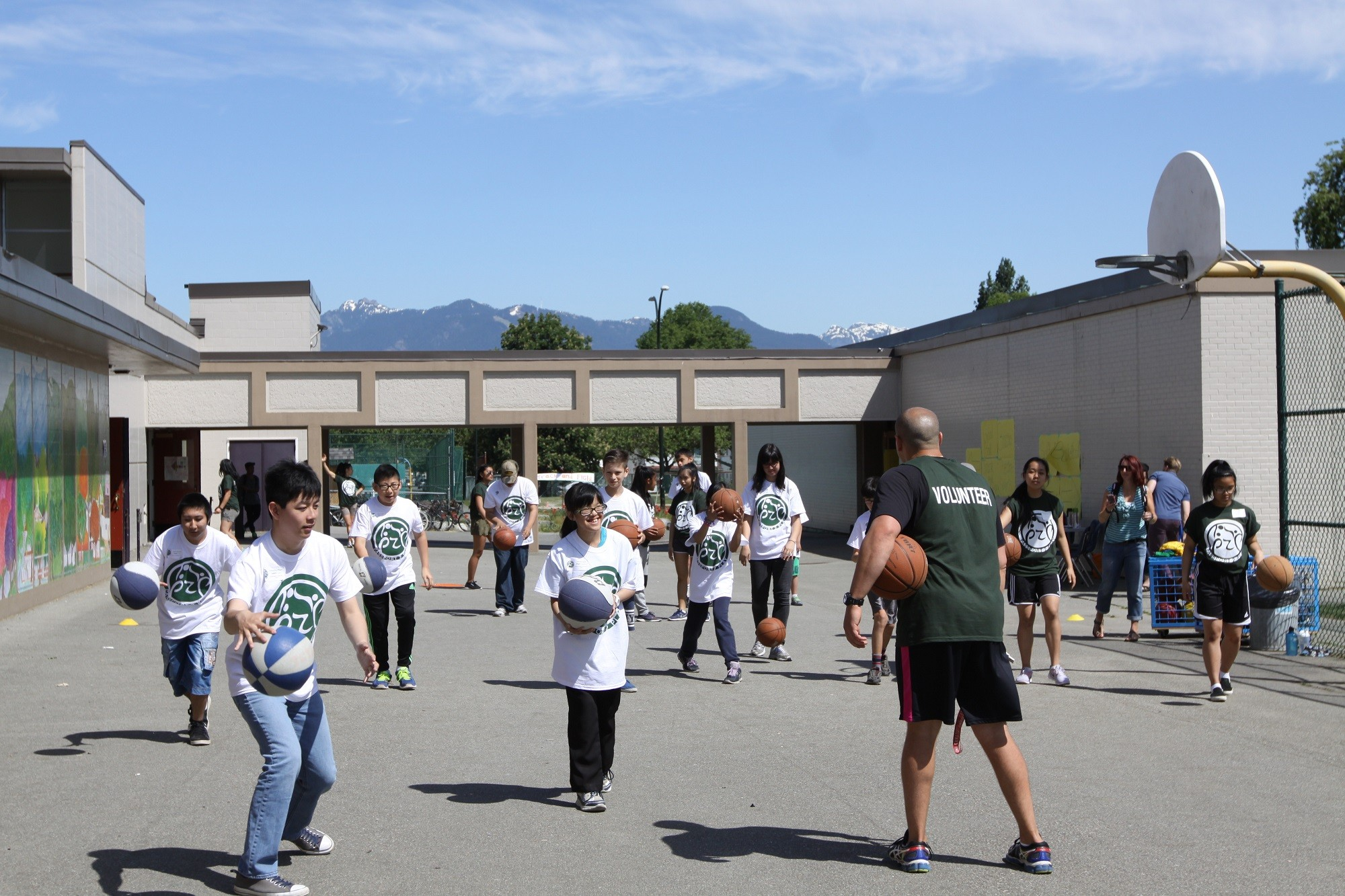Tupper Hosts Passport 2 Play  A Special Sports Day  Vancouver School Board