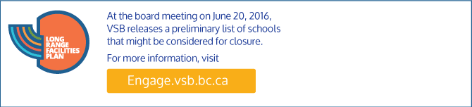 VSB releases a preliminary list of schools that might be considered for closure