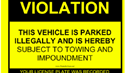 picture title Parking Violations