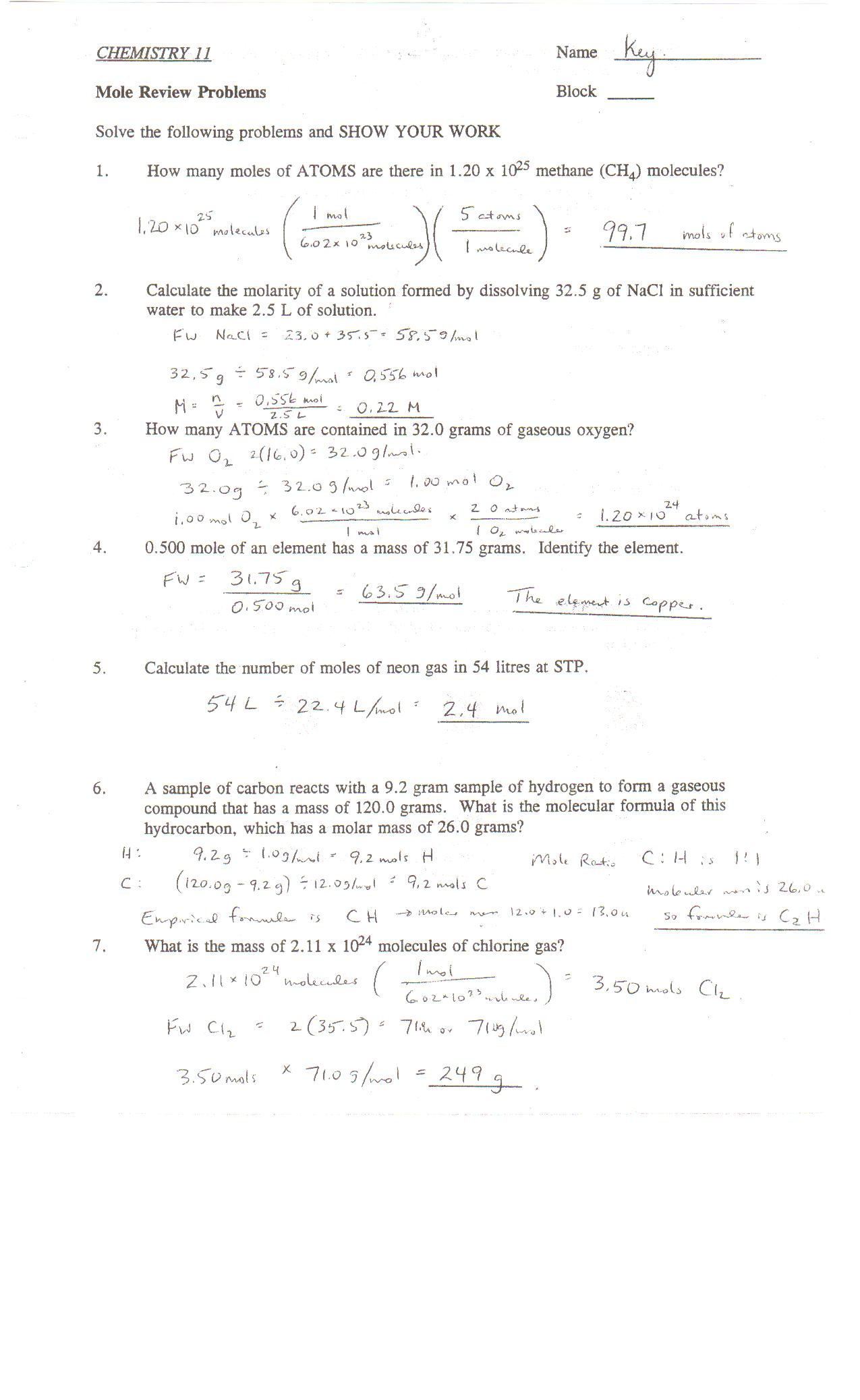 Worksheet Answer Periodic Table Packet 1 Answer Key ...